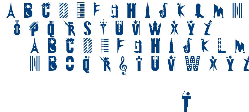 Eclectica font