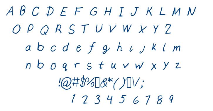 Izzeh font