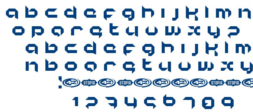 Korunishi font