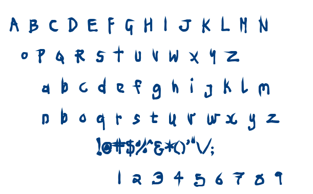 Ninja Penguin font