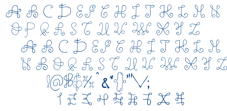 One Wild Line font
