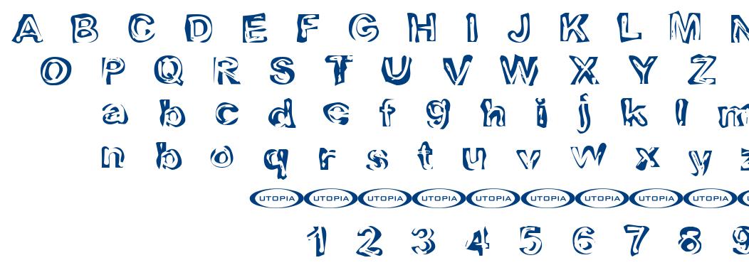 Playdough font