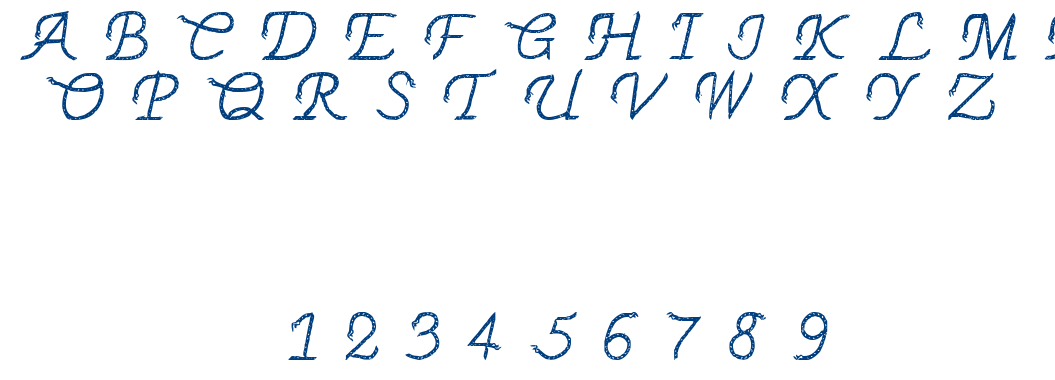 THINROPE font