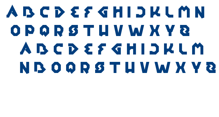 earth aircraft universe font