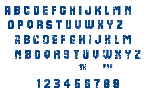 8th Cargo font