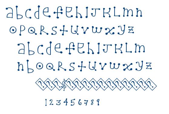 Alien Dot font