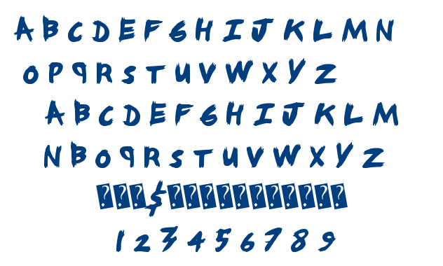 Angry Nerds font