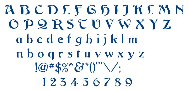 Argos font