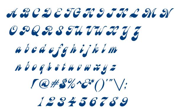 Brandy font