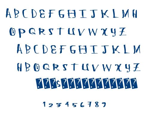 Chung Flew font