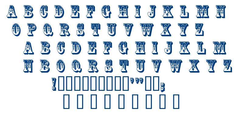 Coffee Tin font