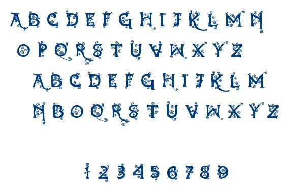 Dearest Dorothy font