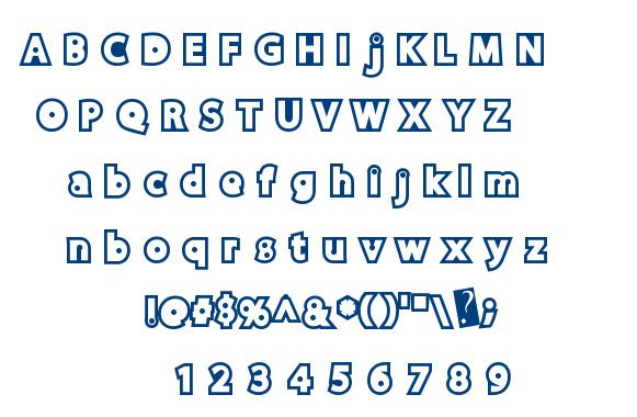 DiscoRush font
