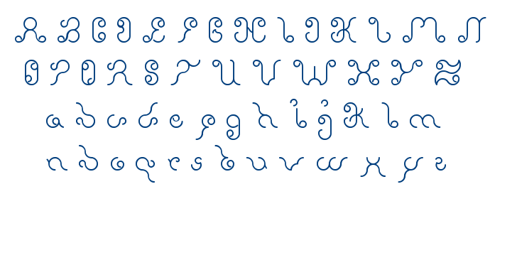 ethereal sky font
