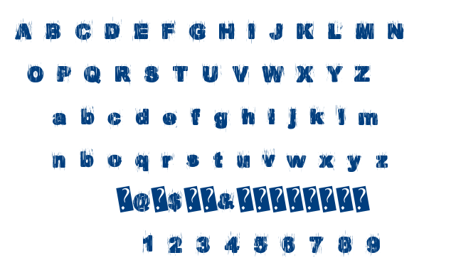 EuroParty font