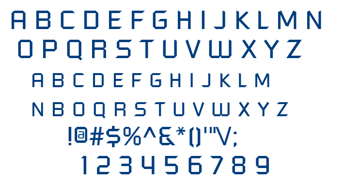Futured font