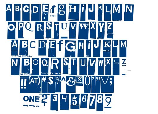 Gubben I L font