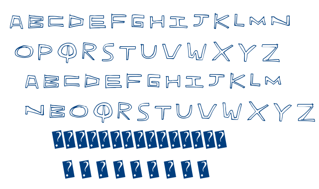 Indie Hand font