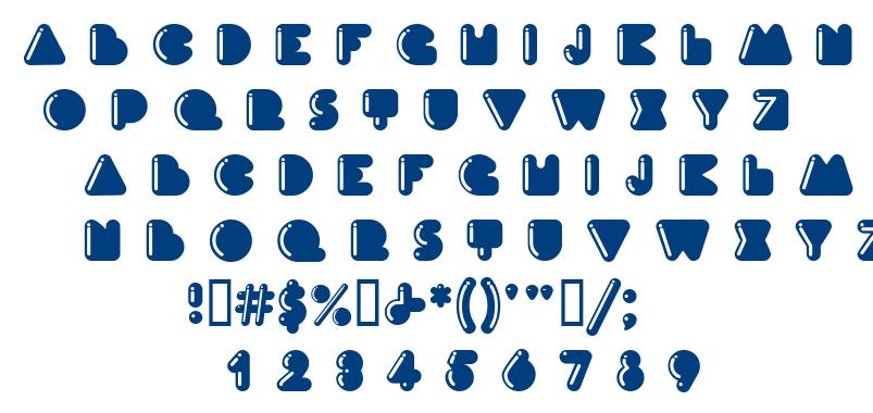 Ink font