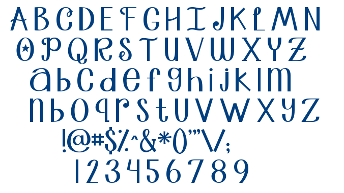 Janda Truly Madly Deeply font