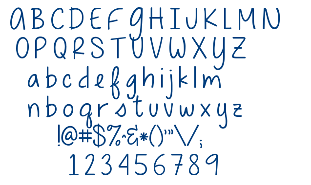 KG Begin Again font