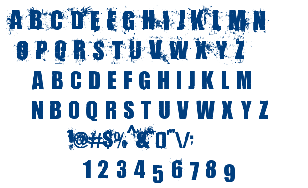 Living Hell font