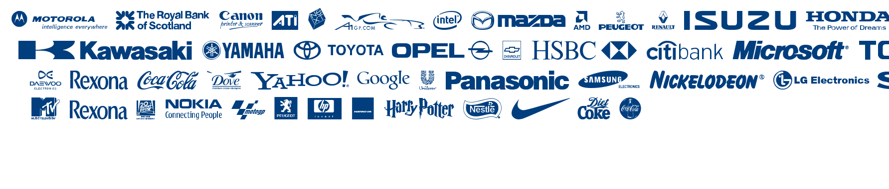 Logos TFB font