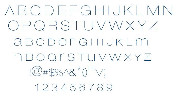 Lowvetica font