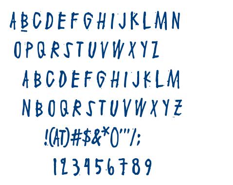 Maaliskuu font