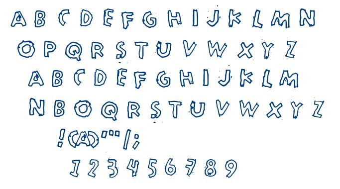 Merkurius font