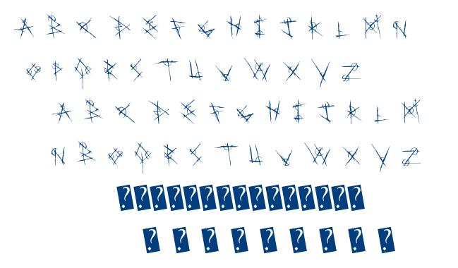Metal Chakra font