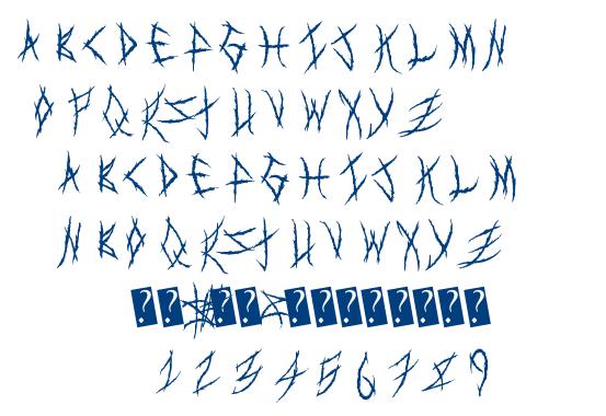 MetalShow font