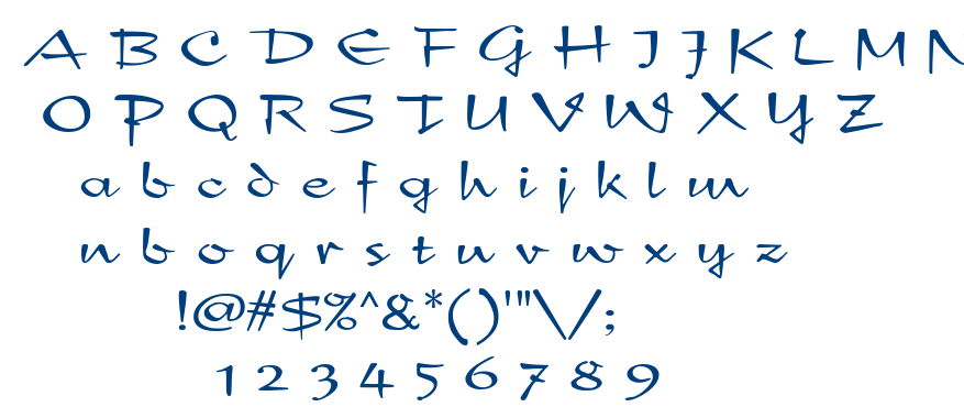 New Day font