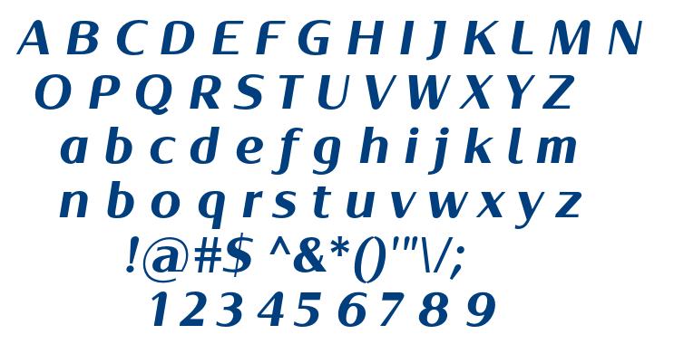 Oblik Classic Bolt Italic font