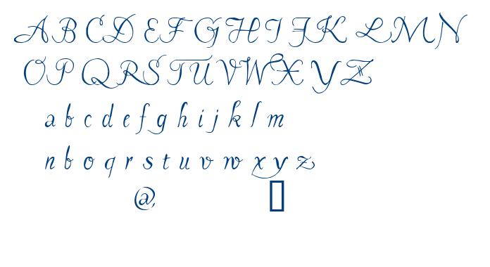 Pavane font