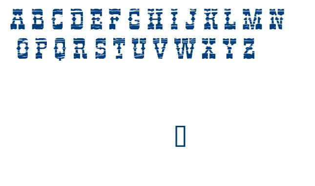 PERDIDO font