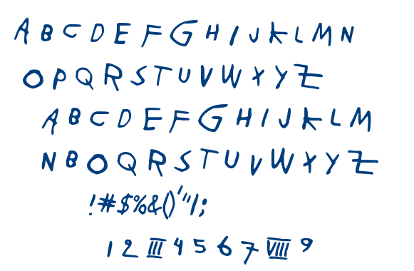 Paja Raja font