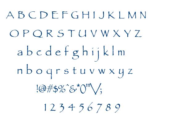 Parchment MF font
