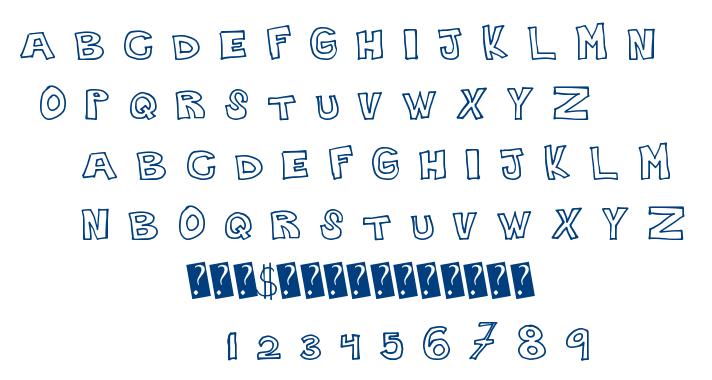 Plain Handline font