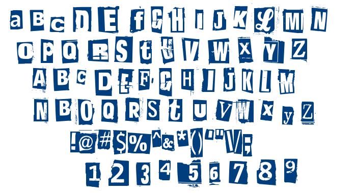 Postinkantaja Job font