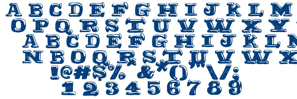 Ragtimer font