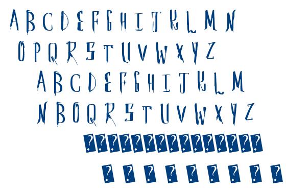 Saber Husk font