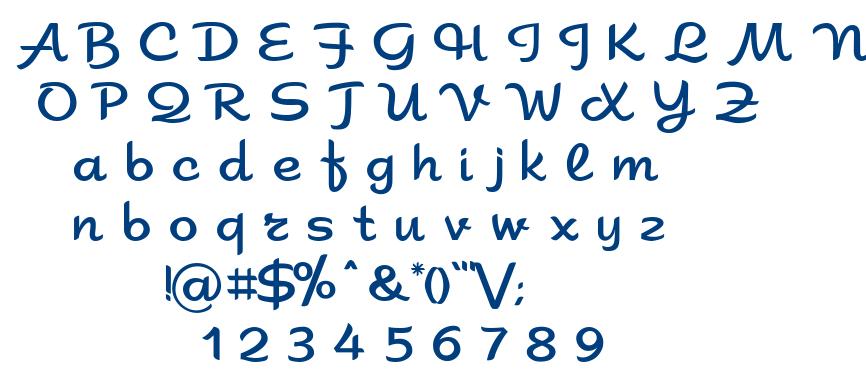 Sahara font