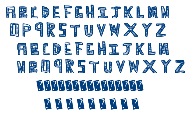 Scribble Time font