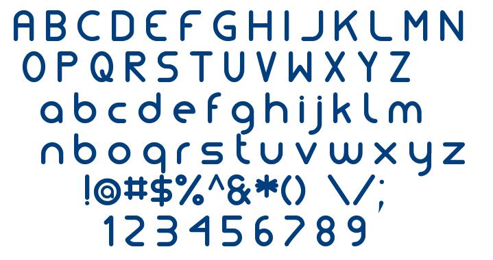 Simple Tfb font