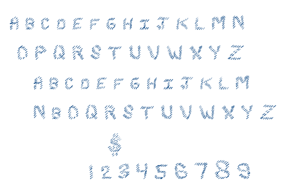 Slash King font