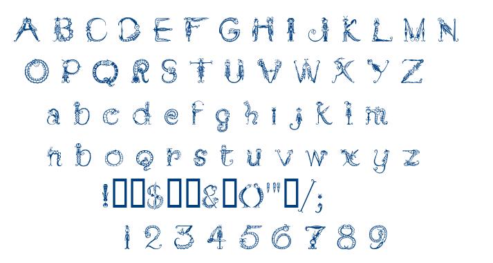 Tarantella MF font
