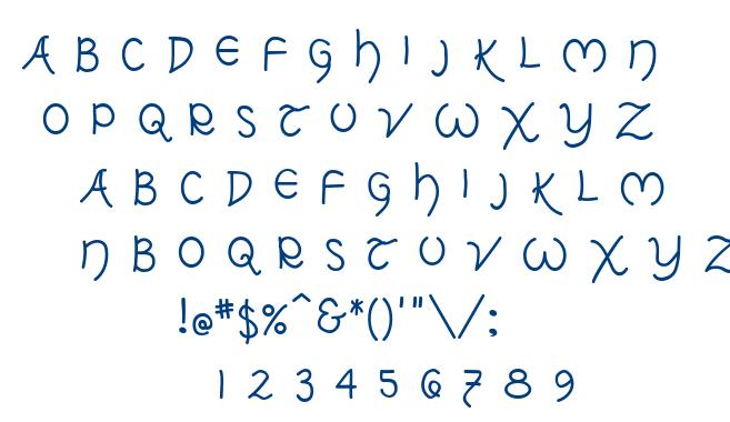 Tolkien Uncial MF font