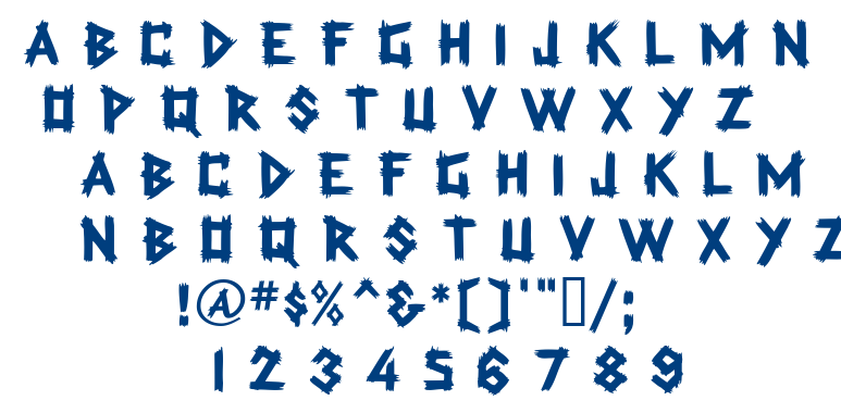 Trading Post font