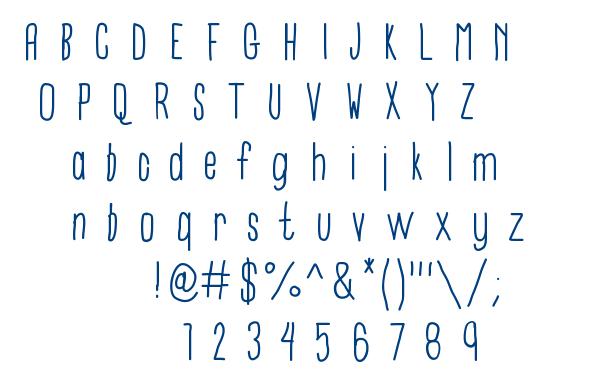 University font